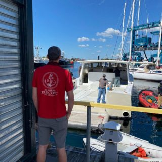 Want to build a custom boat? We can do that here at safeharbornewportshipyard  You'll get only the best technicians on your project. Call us and find out how to make your dreams a reality! 401-447-6827. #rcmarineelectric #newportshipyard nptyachtco